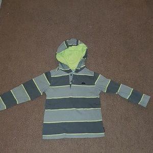 Sweatshirt with hoodie